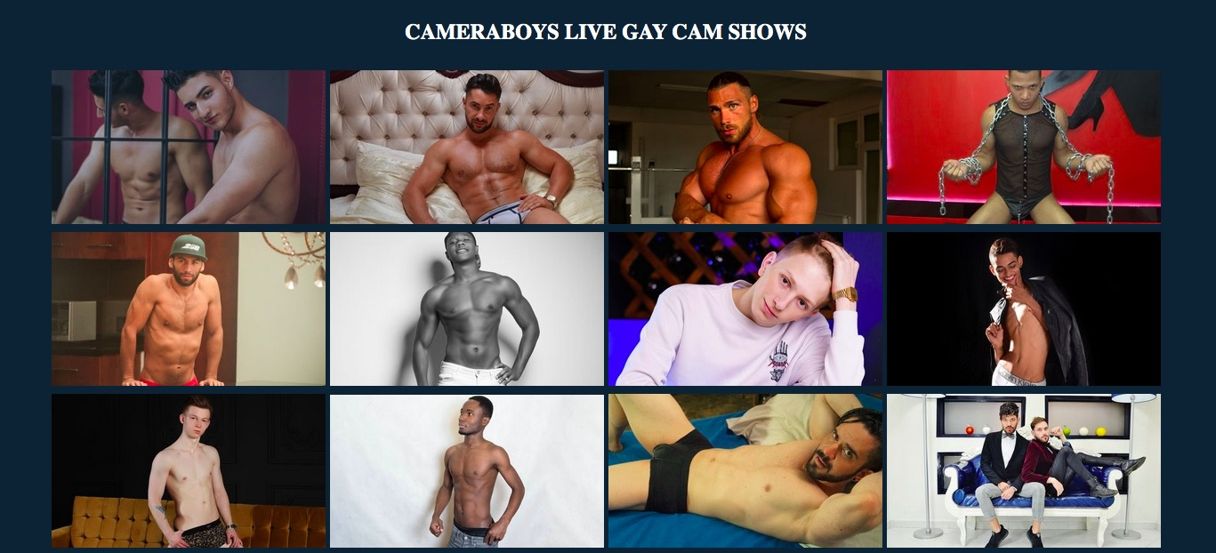 Cameraboys main page